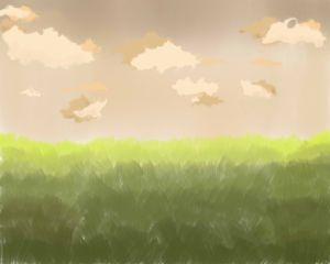 Dull landscape